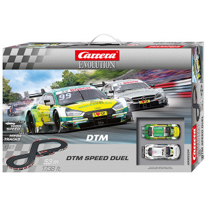 Pista Elettrica Carrera Evolution DTM Speed Duel