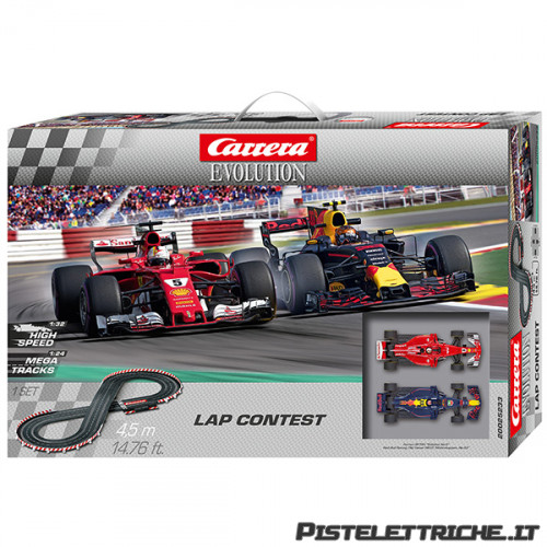 Pista Elettrica Carrera Evolution Lap Contest