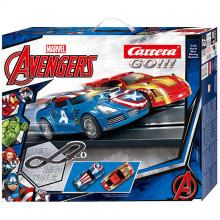 Pista Elettrica Carrera GO Marvel Avengers