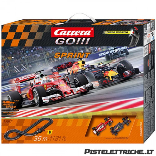 Pista Elettrica Carrera GO Formula 1 Sprint