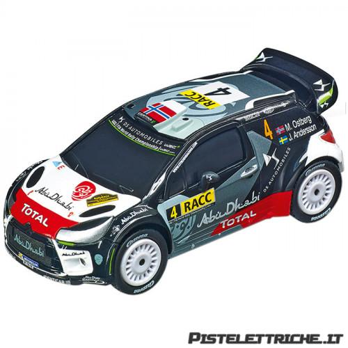 Citroen DS3 WRC Citroen WRT M. Ostberg