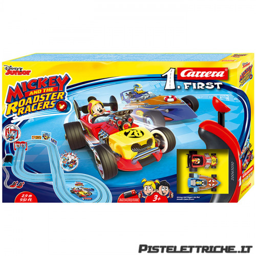 Pista Carrera First Mickey and the Roadster Racers 2,9 metri