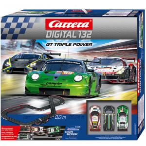 Pista Elettrica Digitale GT Triple Power