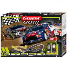 Pista Elettrica Carrera GO Rally Up