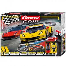 Pista Elettrica Carrera GO GT Showdown