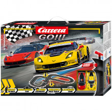 Pista Elettrica Carrera GO GT Showdown