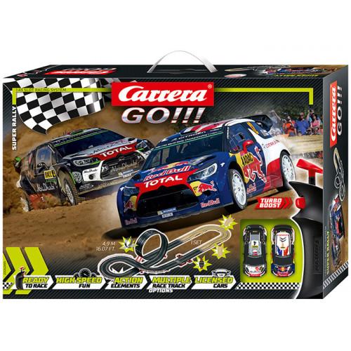 Pista Elettrica Carrera GO Super Rally