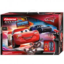 Pista Elettrica Carrera GO Disney Pixar Cars Neon Nights