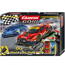 Pista Elettrica Carrera GO Race the Track
