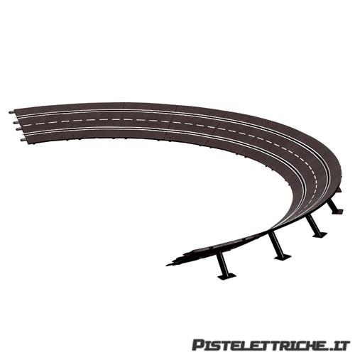 Curva Parabolica Raggio 4 da 15 gradi
