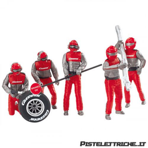 Set Meccanici Rossi Team Carrera