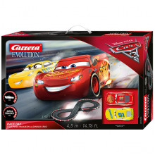 Pista Elettrica Carrera Evolution Disney Pixar Cars 3 Take Off
