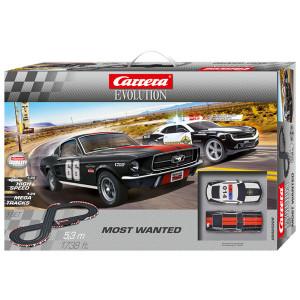 Pista Elettrica Carrera Evolution Most Wanted
