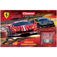 Pista Elettrica Carrera Evolution Ferrari Competizioni