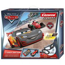 Pista Elettrica Carrera GO Disney Pixar Cars® Carbon Drifters