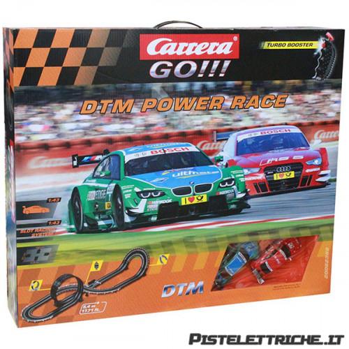 Pista Elettrica Carrera GO DTM Power Race