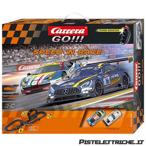 Pista Elettrica Carrera GO Speed'n Race