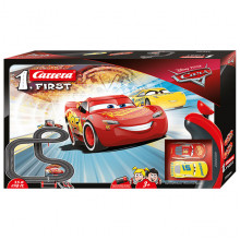 Pista Elettrica Carrera First Disney Pixar Cars 3,5 metri