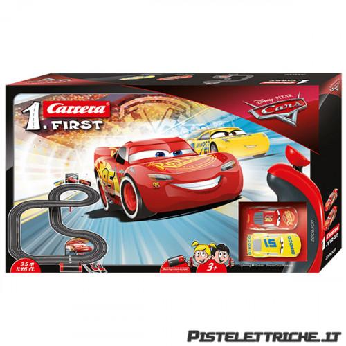Pista Elettrica Carrera First Disney Pixar Cars 3,5 metri