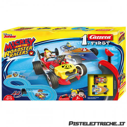 Pista Carrera First Mickey and the Roadster Racers 2,4 metri