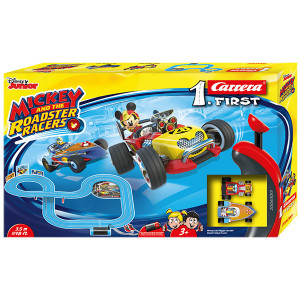 Pista Carrera First Mickey and the Roadster Racers 3,5 metri
