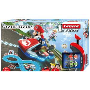 Pista Elettrica Carrera First Nintendo Mario Kart 2,4 metri
