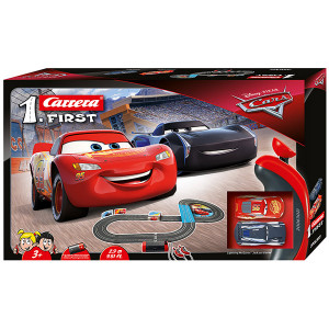 Pista Elettrica Carrera First Disney Pixar Cars 2,9 metri