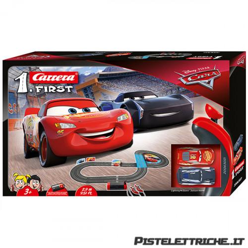 Pista Elettrica Carrera First Disney Pixar Cars 2,9 metri